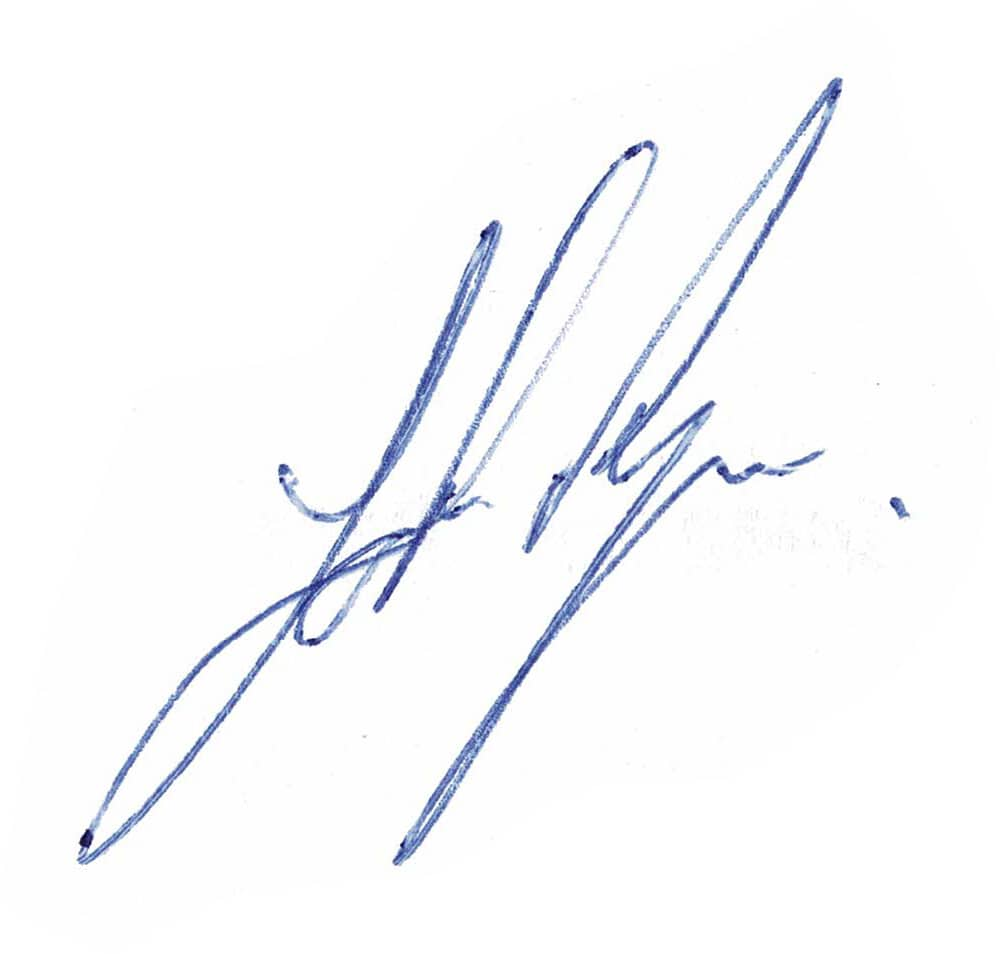 Johnny Ryan Signature
